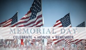 Memorial Day - Celebrate Honor Remember
