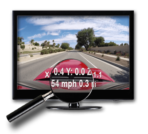 Alti-Force GPS mobile app adds GPS Speed an Distance to Alti-Force Sensor Pack data recorder upgraded GoPro Hero4 cameras