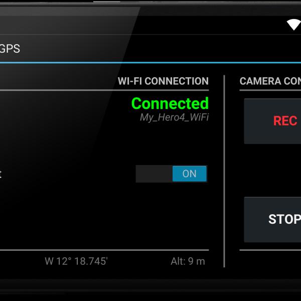 Alti-Force GPS mobile app for Alti-Force Sensor Pack data recorder upgrade GoPro Hero4 cameras