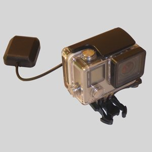EB33 GPS Expander Board for GoPro Hero4 cameras equipped with the SP30 Alti-Force Sensor Pack