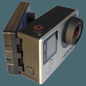 Alti-Force SP30 data recorder upgrade GoPro Hero3, Hero3+, and Hero4 cameras
