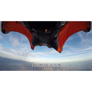 Alti-Force SP22 SP30 altitude and acceleration G-force data recorder upgrade GoPro Hero3, Hero3+, and Hero4 cameras in aviation and aerobatics